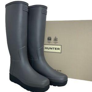 NEW Hunter Refined Creeper Over The Knee Rain Boot